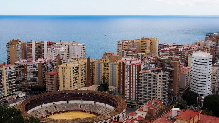 Malaga, The Mediterranean, and Bullfighting