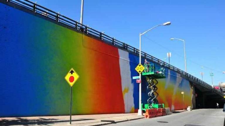 Street art in DUMBO