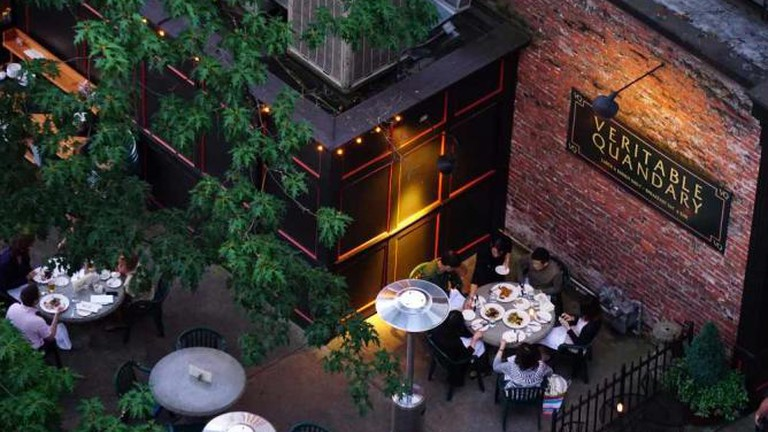 Veritable Quandry outdoor dining