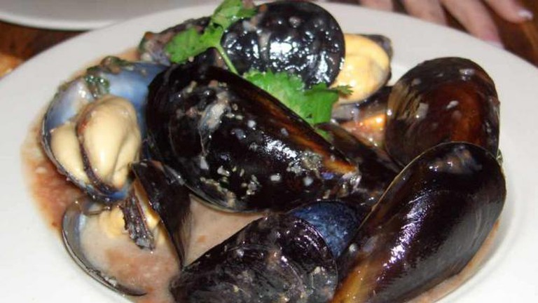 Mussels at Higgins Restaurant and Bar