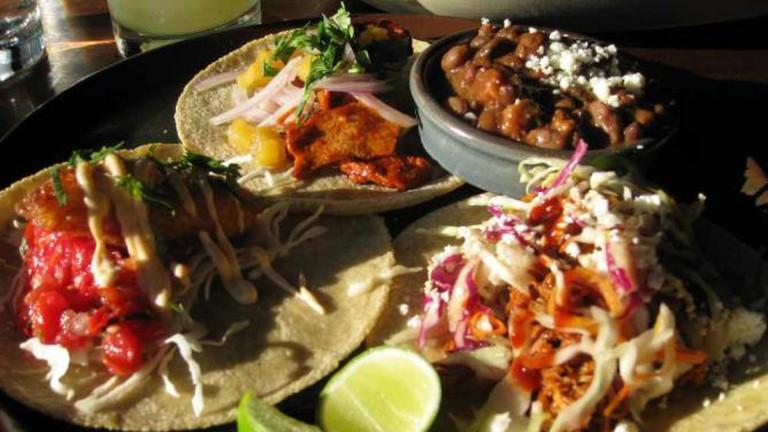Tacos at Barrio