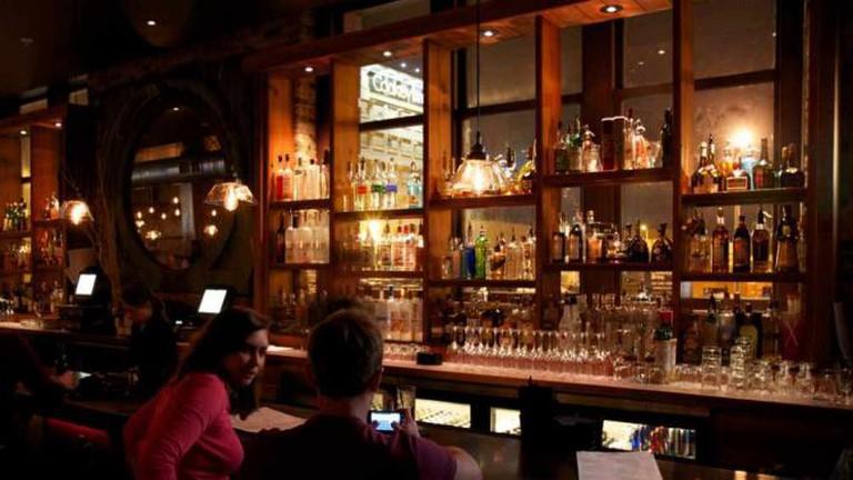 The bar, Iron Horse Hotel