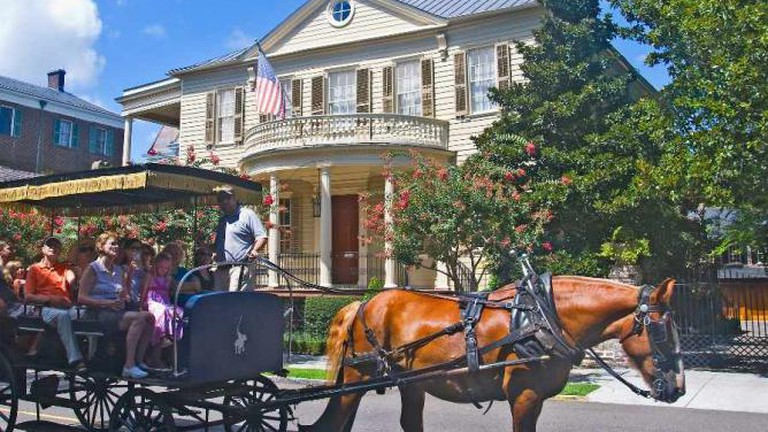 Carriage Ride on Meeting Street
