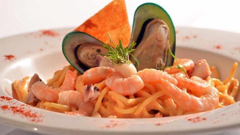 Pasta and Shellfish