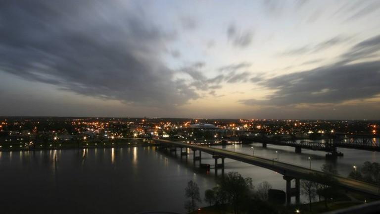 Swollen Arkansas River