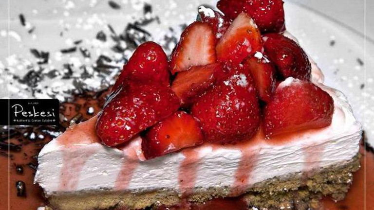 Cretan cheesecake