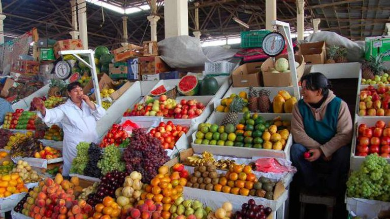 Fruit market, Cusco
