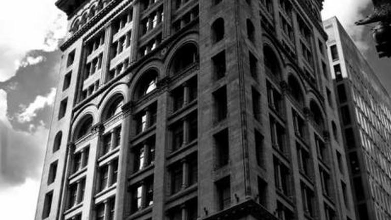 Ames Building in Shadow