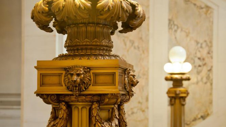 Stairwell Pillar
