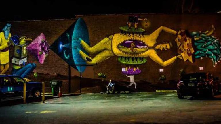 Mural in East Atlanta Village