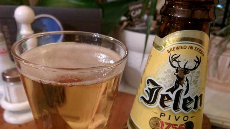 Jelen beer from Serbia