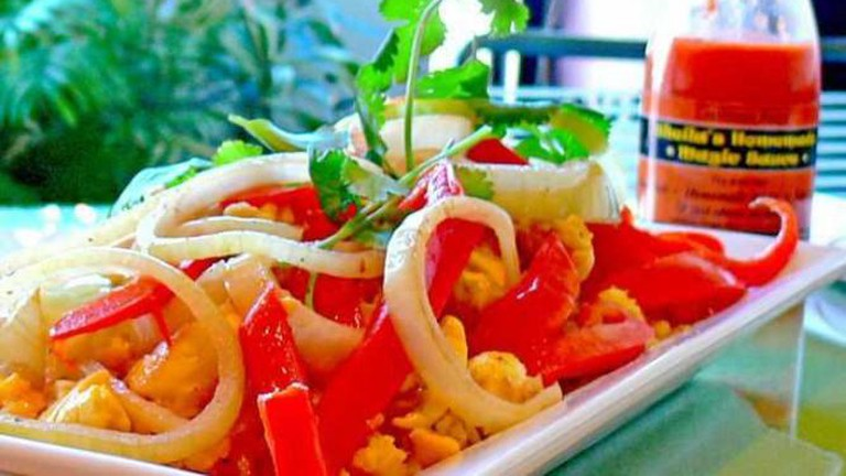 Ackee and Salted Cod Fish