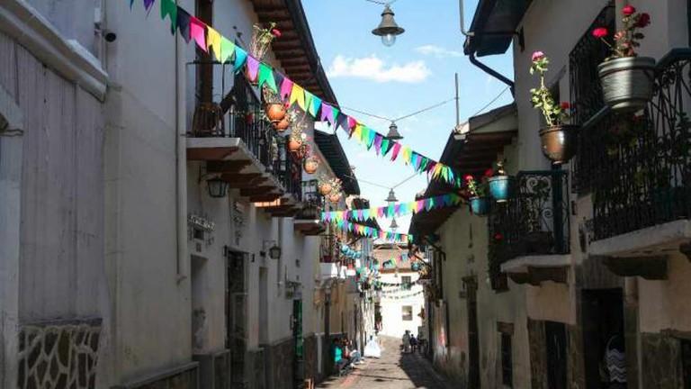 A street in La Ronda