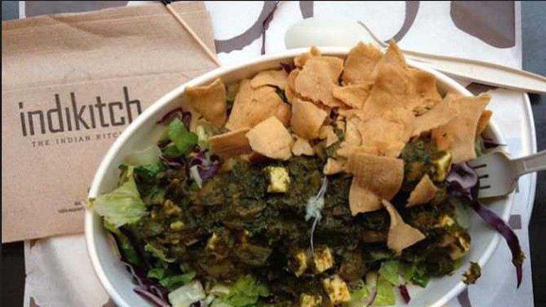 Saag salad from Indikitch