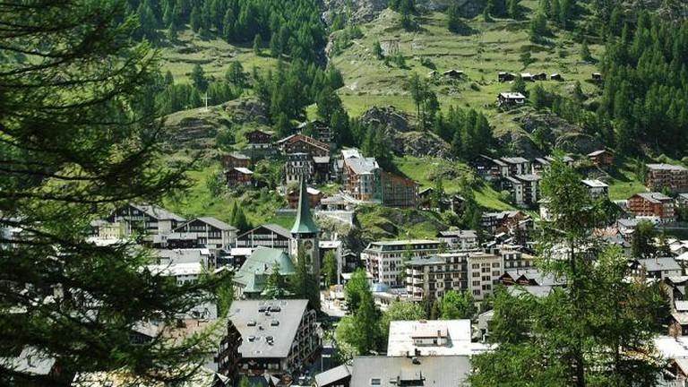 View of Zermatt