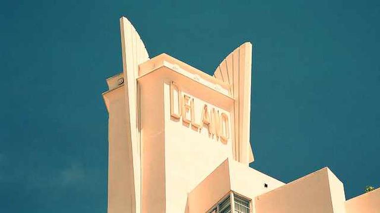 Delano Hotel Sign South Beach