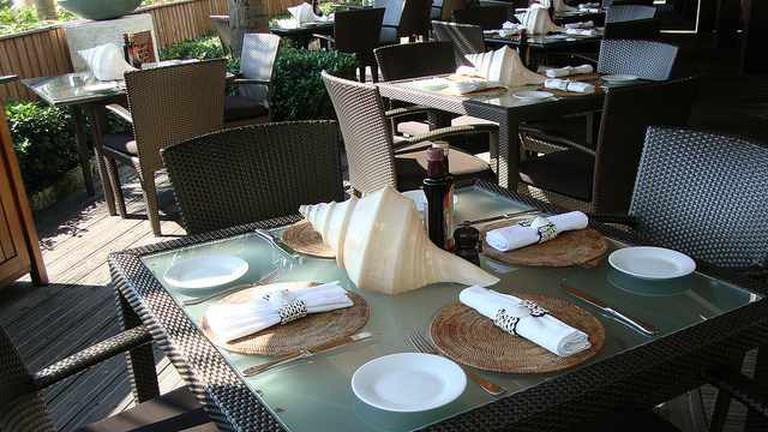Dining at The Setai