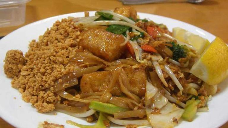 Pad Thai Vegetarian - Spicy Noodle