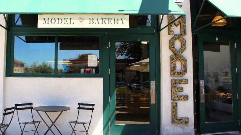 Exterior Model Bakery, Napa