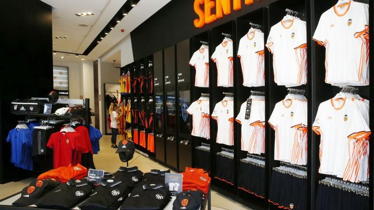 Valencia FC shop