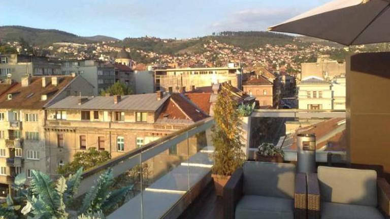 City Boutique Hotel terrace