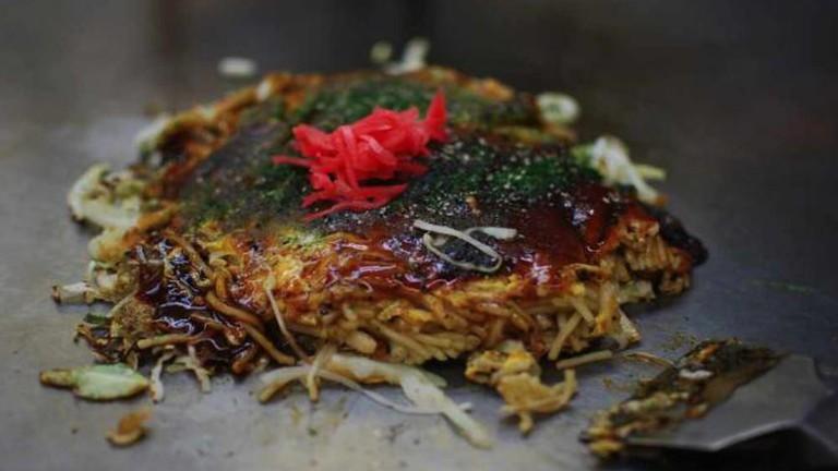Okonomiyaki - Hiroshima style