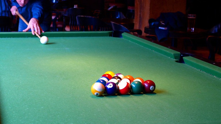 Enjoy a game of pool