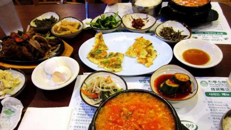 Jeun Tong Banchan Tofu