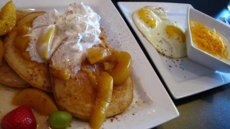 Breakfast at Garden Brunch Café