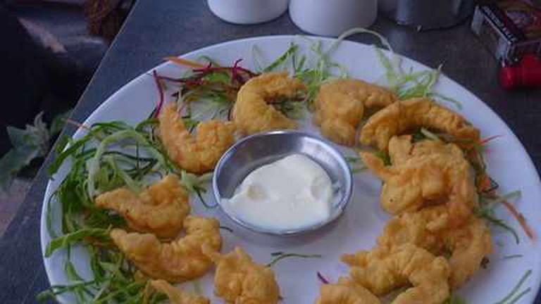 Golden Fried Prawns - Goa