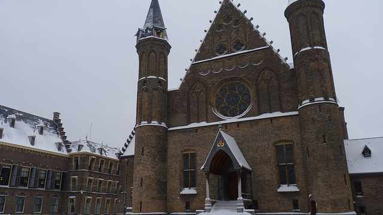 Ridderzaal in Snow