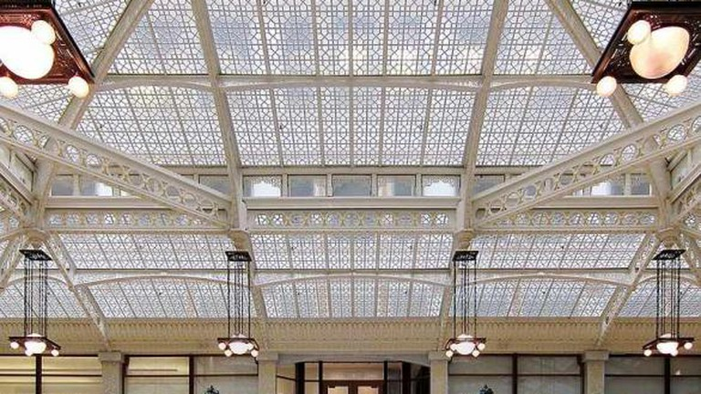 The light court in The Rookery