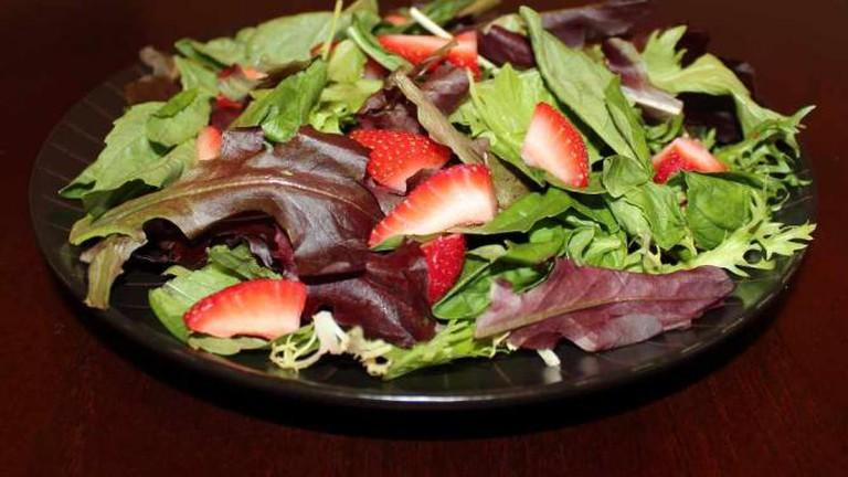 Strawberry and Basil Salad
