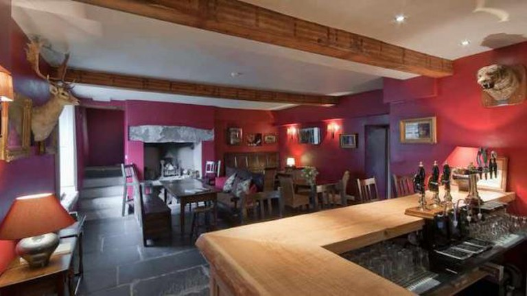 The bar at the Eltermere – Image courtesy of the Eltermere Inn