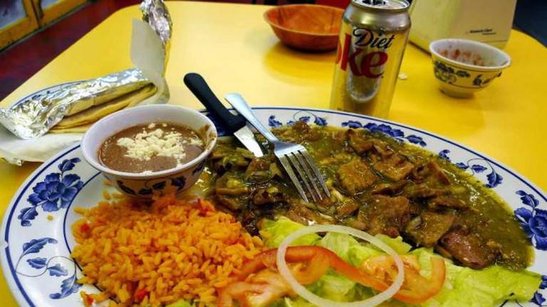 Chili Verde at Chalateco
