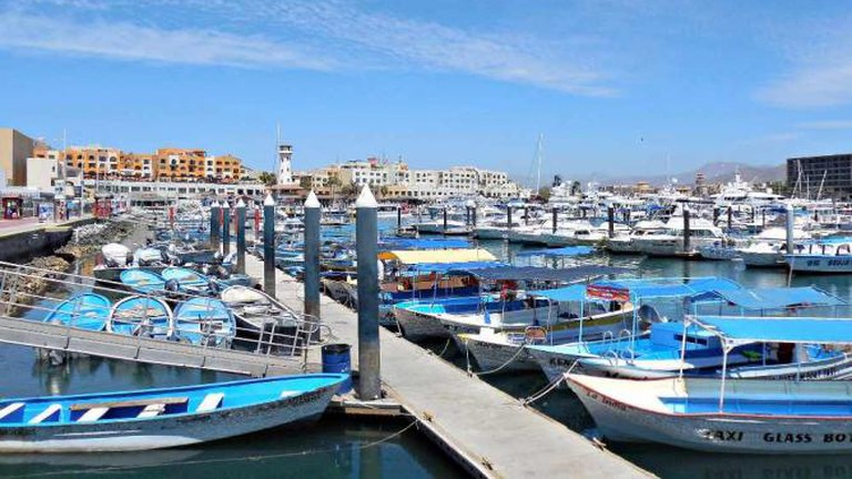 Marina at Cabo San Lucas