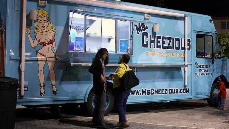 Ms. Cheezious Food Truck