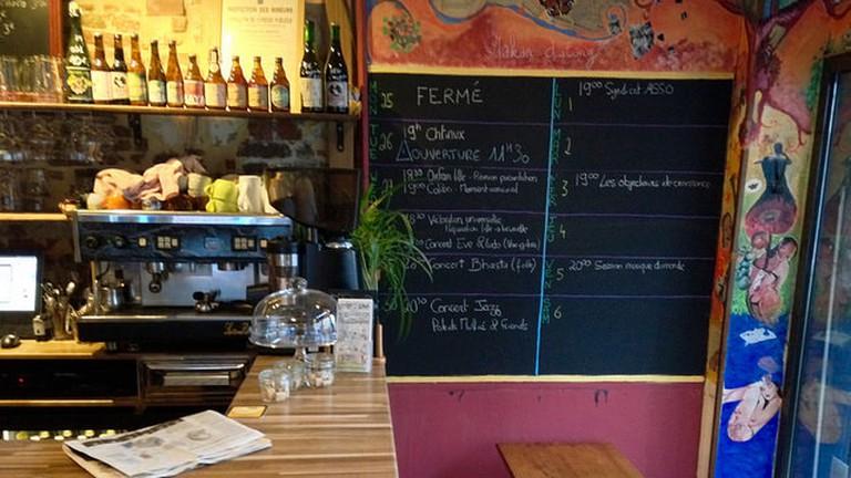 Le Café Citoyen interior