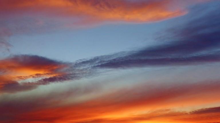 Florida Fall Sunset