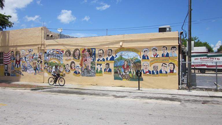 Little Havana Mural Bike