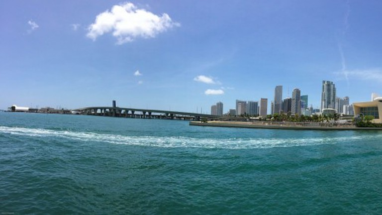 Panorama- Biscayne Bay