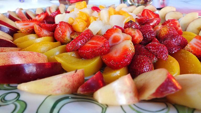 Colorful fruits in Venezuela