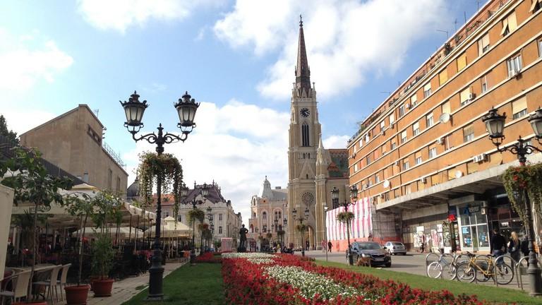 Novi Sad Streets, Serbie