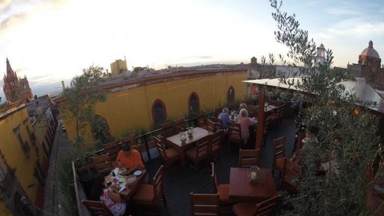 El Pegaso Rooftop Terrace
