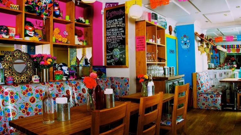 Inside La Choza