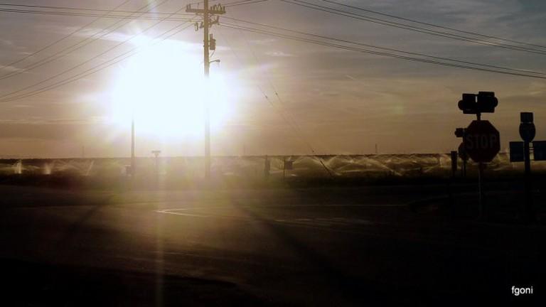 Cruce de caminos en Bakersfield-California