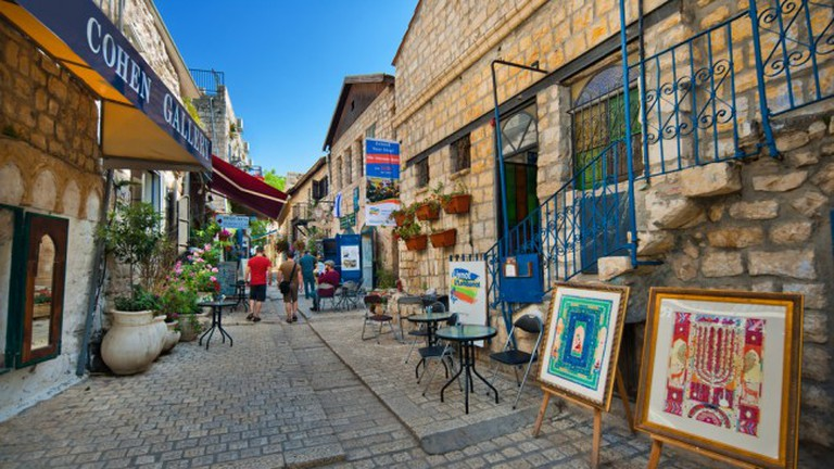Safed Old City, Photo by Daphna Tal