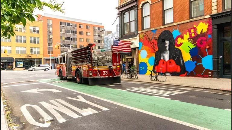 Debbie Harry Mural, New York