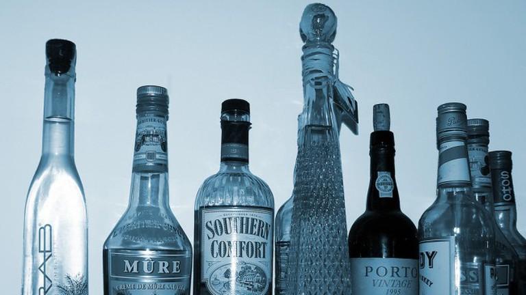 blue booze