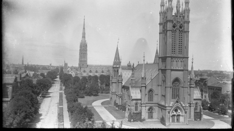 Metropolitan United Church in 1896